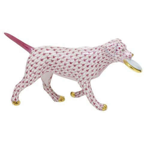 $395.00 Frisbee Dog - Raspberry