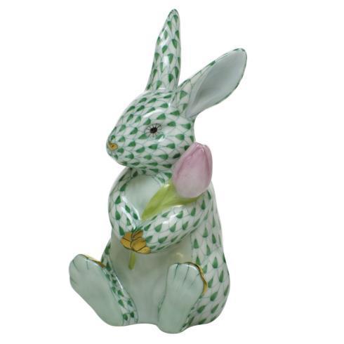 $535.00 Blossom Bunny - Green