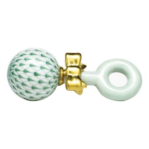 $225.00 Baby Rattle - Green