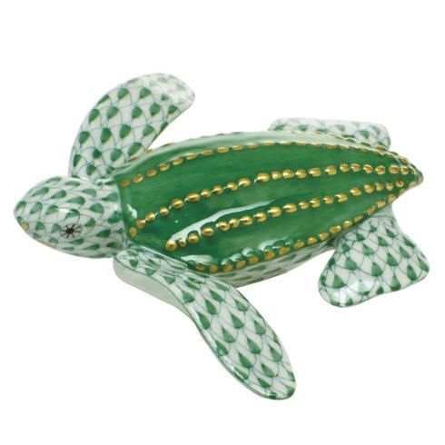 $350.00 Young Leatherback Turtle - Green