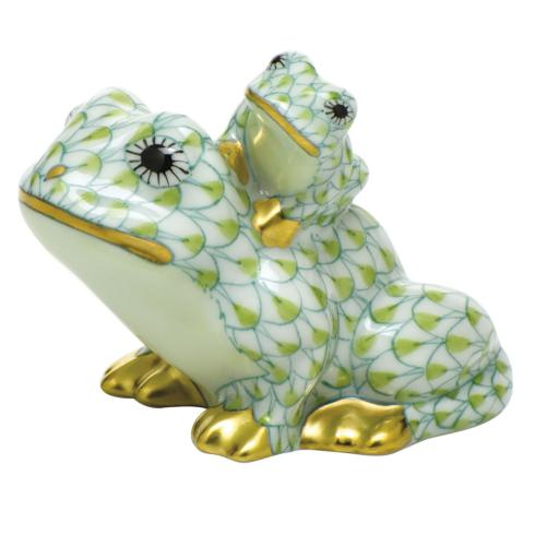 $385.00 Mother and Baby Frog - Multicolor
