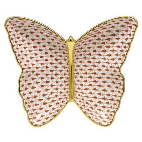 $285.00 Butterfly Dish - Sapphire