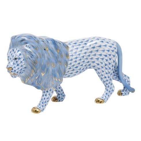$615.00 Standing Lion -  Blue