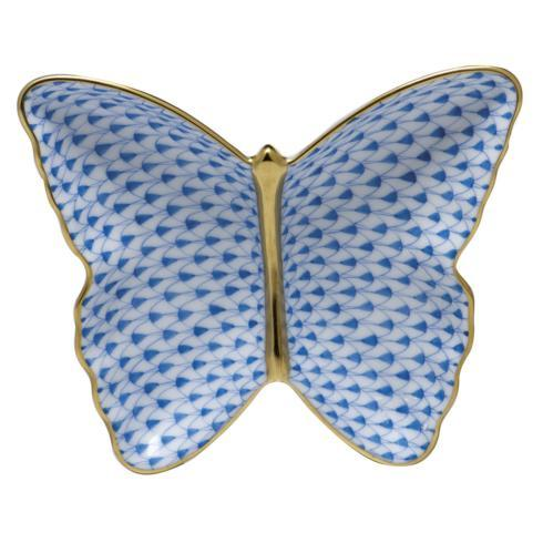 $285.00 Butterfly Dish - Blue