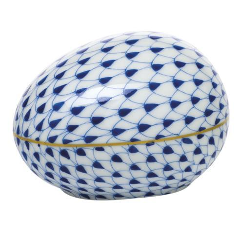 $195.00 Large Egg - Sapphire