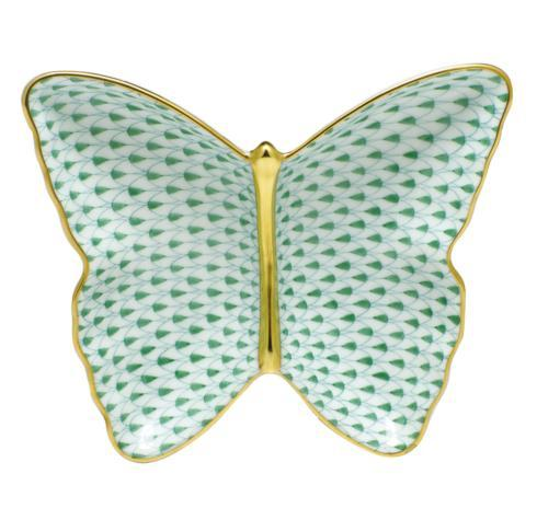$285.00 Butterfly Dish - Green