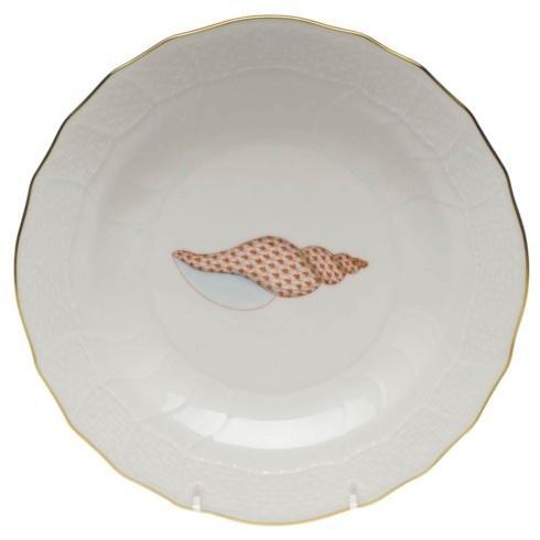 $145.00 Dessert Plate - Tulip Shell