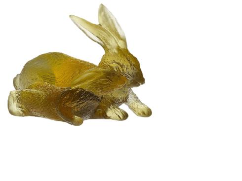 $450.00 Amber-Grey Horoscope Rabbits
