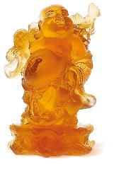 $750.00 Amber Standing Buddha