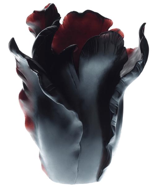$4,450.00 Black Appaloosa Vase