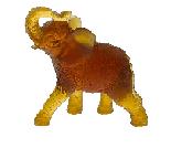 $425.00 Amber Elephant