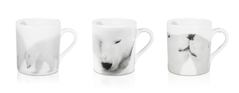 $306.00 Set of 3 Mugs - La Sieste + Just A Kiss + Pushing Mummy