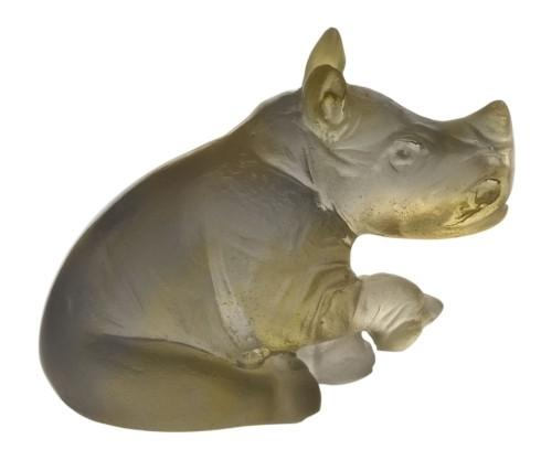 $185.00 Amber grey rhinoceros