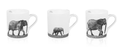 $306.00 Set of 3 Mugs - Trilogy In Africa