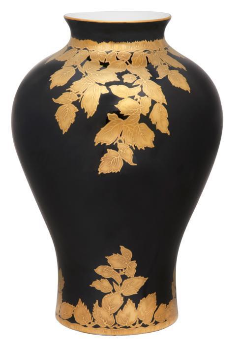 $8,320.00 Black Vase