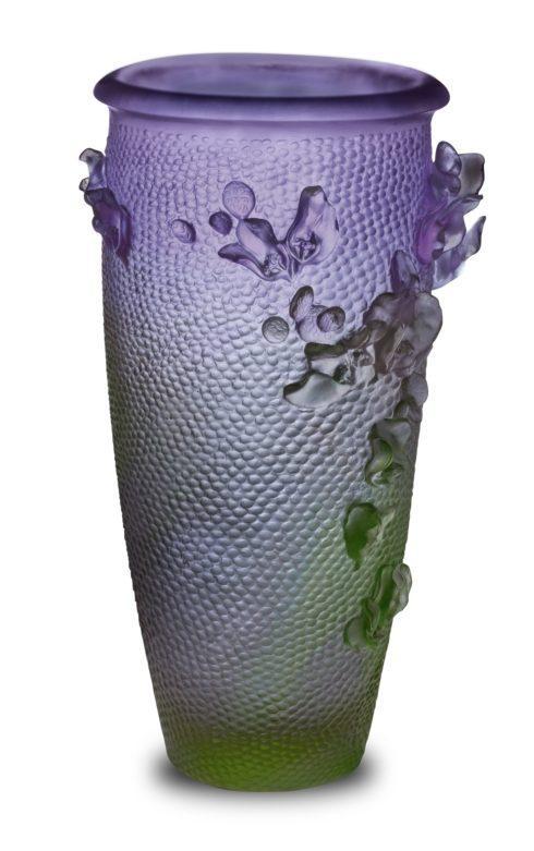 $15,600.00 Purple Green Magnum Vase
