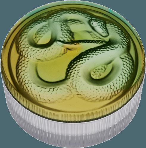 $410.00 Green snake box