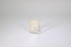 "$26.00 3.5""x2.25"" Swirl Mini Vase"