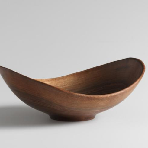 "$230.00 Live Edge 13"" Black Walnut Bowl"