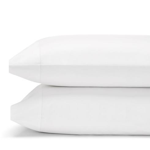 $135.00 King Pillow Cases, Pair - White