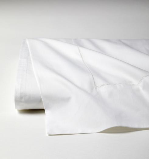 $160.00 King Flat Sheet - White