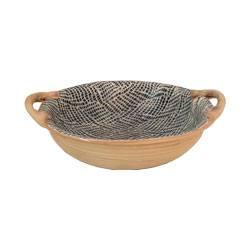 $98.00 Vegetable Bowl w/ Handles - Braid
