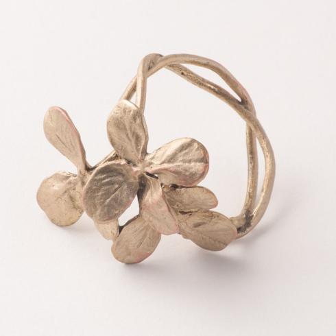 $64.00 Clover Napkin Rings s/4