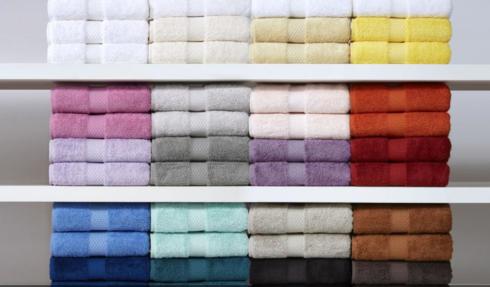 $65.00 Etoile Bath Towel White