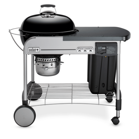 "$399.00 22"" PERFORMER DELUXE GRILL BLACK"