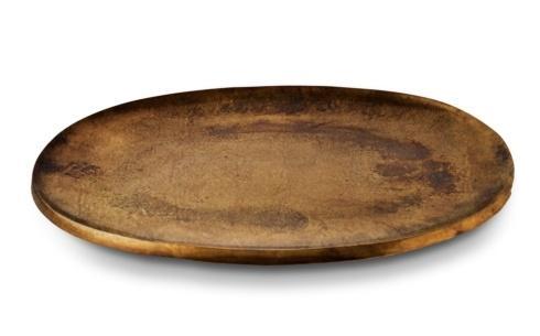 "$160.00 15"" Platter Bronze"