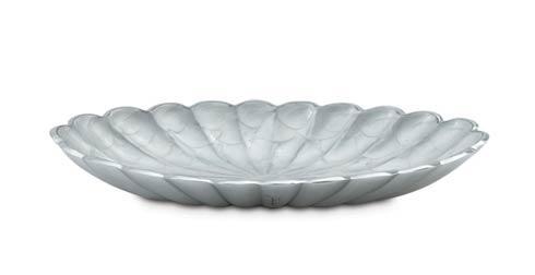 "$99.00 16"" Oval Bowl Snow"