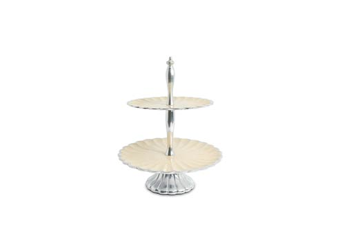 """$224.00 11.5"""" Two-Tiered Server Snow"""