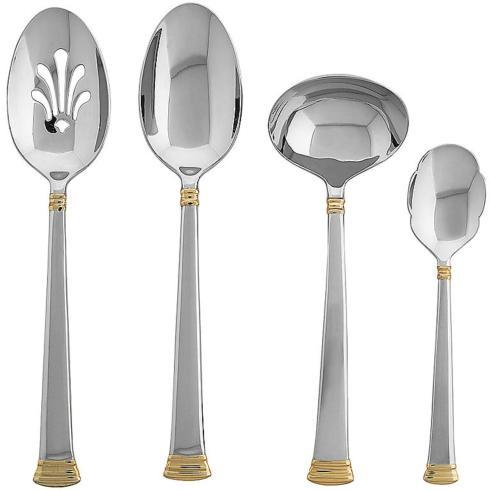 $70.00 Stainless 4 Pc. Hostess Set