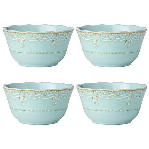 $40.00 Melamine Aqua All Purpose Bowls Set of 4