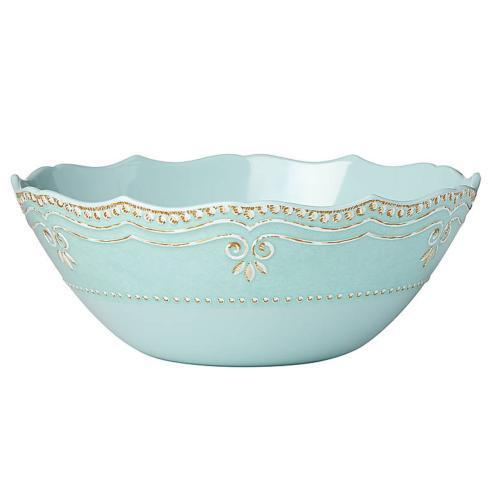 $36.55 Melamine Aqua Serving Bowl