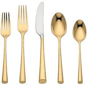 $90.00 Gold 5 Pc. Place Setting