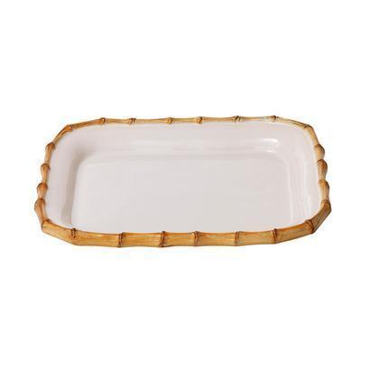 "$79.00 Natural 12"" Rectangular Platter"