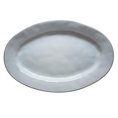 """$78.00 White Truffle 15"""" Oval Platter"""