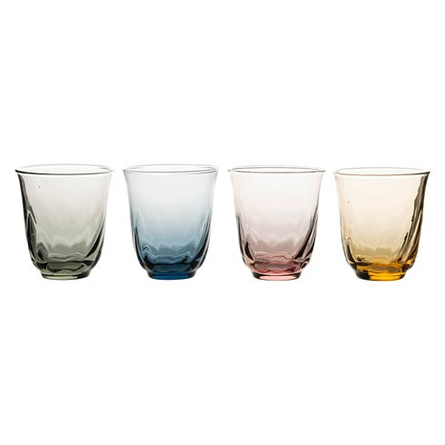 $98.00 Small Tumbler Set/4 Assorted Colors
