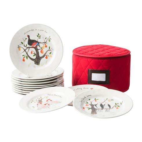 $350.00 Dessert/Salad Plate Set/12