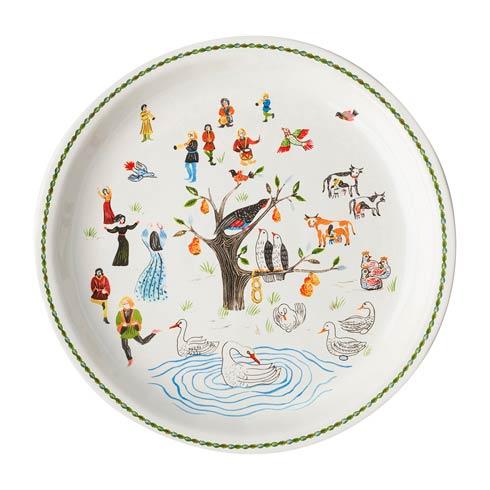 """$125.00 15"""" Round Platter"""