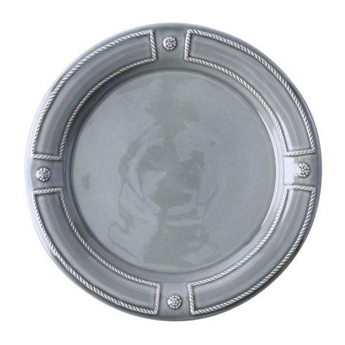 $40.00 Stone Grey Dinner Plate (French Panel)