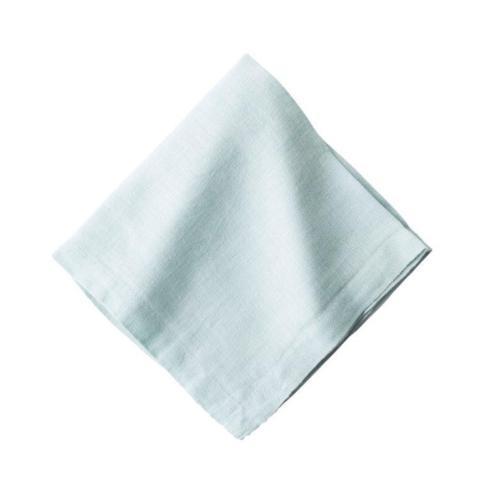 $12.00 Heirloom Linen Ice Blue Napkin