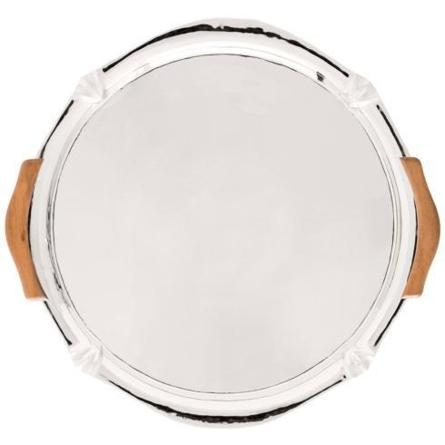 "$150.00 16"" Oval Handled Platter"