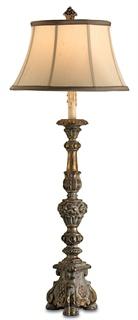 "$345.00 39"" WOOD LAMPS"