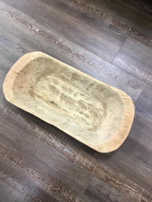 $75.00 Wooden Oval Bowl