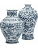 $90.00 BLUE AND WHITE VASE
