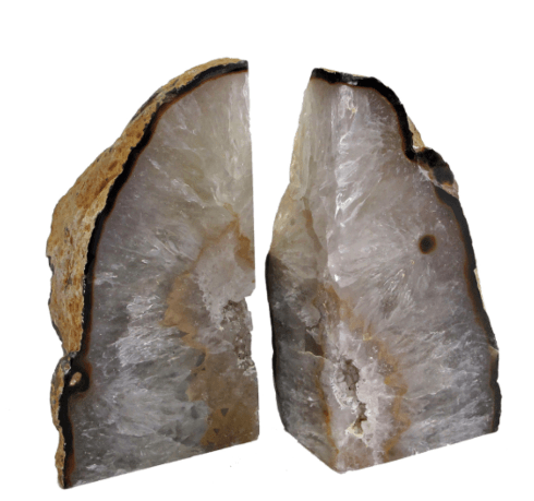$105.00 AGATE BOOKEND LARGE