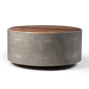 $1,560.00 CROSBY ROUND COFFEE TABLE