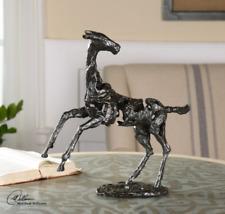 $145.00 BRONZE REARING HORSE